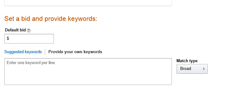 Adding Keywords to Amazon Campaign Manager